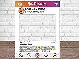 Photocall Instagram Personalizado Eventos o Celebraciones puntual