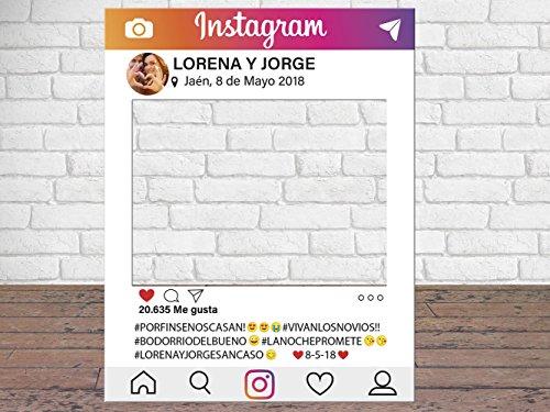 Photocall Instagram Personalizado Eventos Celebraciones