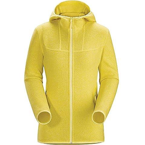 Arcteryx W Covert Hoody - Fennel - M - Womens warm hooded fleece jacket
