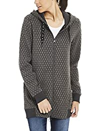 Bench Long Zip Through Hoody, Veste Sweat Femme