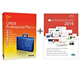 Original Microsoft Office 2010 PRO (Professional Plus) Lizenzschlüssel + Lizenza USB Stick Deutsch inklusive Workstation 2016 für Office