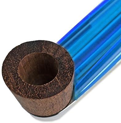 Seiler24 Pfeife blau silber + 10 Bonusfilter von Seiler24