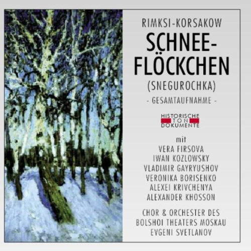 Musik Theater Kostüm - Schneeflöckchen (Snegurochka)
