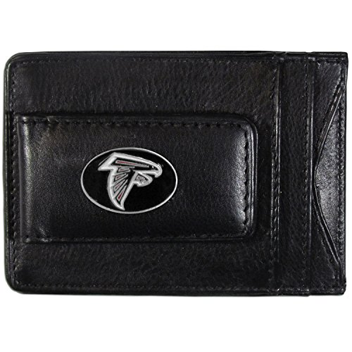 Siskiyou NFL-Kartenhalter aus Leder, Atlanta Falcons, Each (Atlanta Falcons Football Karten)