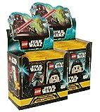Unbekannt Lego Star Wars - Serie 1 Trading Cards - 2 Display (100 Booster) - Deutsch