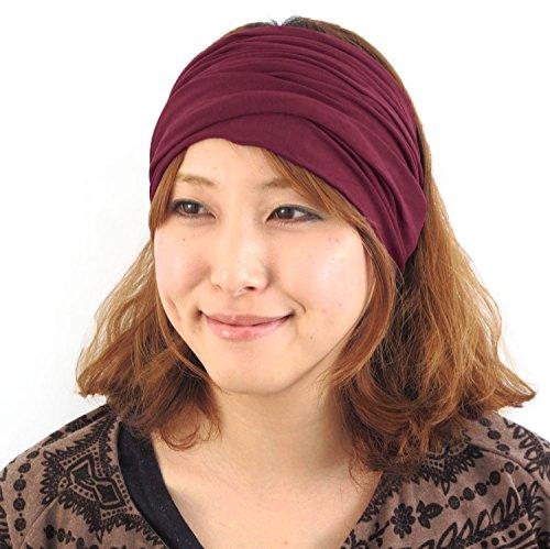 casualbox-herren-kopf-abdeckung-band-bandana-stretch-haar-stil-japanisch-kastanienbraun