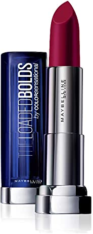 Maybelline New York Color Sensational Loaded Bold Lipstick, Midnight Date, 3.9g