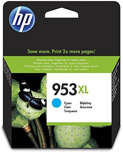 Preisvergleich Produktbild HP 953XL Cyan Original Druckerpatrone mit hoher Reichweite für HP Officejet Pro