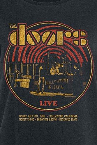 The Doors Warp Girl-Shirt Schwarz Schwarz