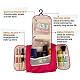 Best Bags For Less Hanging Travel Toiletry Bags - Kanthi Toiletry Bag For Unisex Hanging Toiletries Kit Review