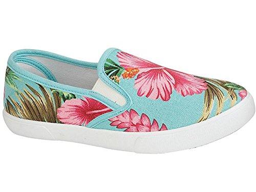 Foster Footwear ,  Mädchen Unisex Kinder Damen Jungen Espadrilles Türkis