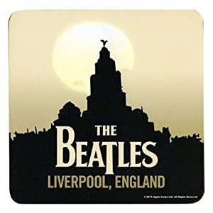 The Beatles Liverpool Individual Cork Coaster by Officially Liscenced Product