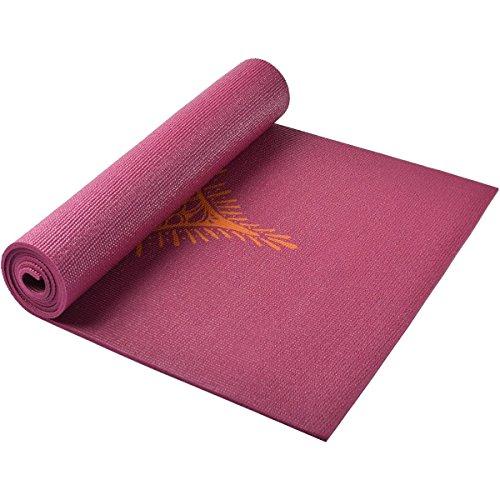 Hugger Mugger Galerie Collection Ultra Yogamatte-Curry Henna Lil Huggers