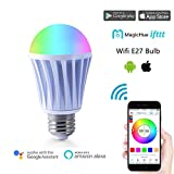 Magic Hue Smart LED Gegenwert 60W WiFi Lampe, dimmbar Birne mit Amazon Alexa, Ifttt, Google Home...