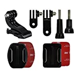 Jjc Gp-J16 Helmet Front Mount Kit Accessory For Gopro Hero 4/3+/3/2/1 Camcorder