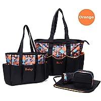 Borse Borse infanzia shopper it Prima fasciatoio Arancione Amazon 4vFEP
