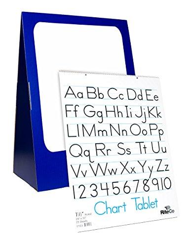FLIPSIDE Produkte 61x 83,8x 35,6cm Spiralbindung Flipchart Set mit einem 45,7x 61cm Dry Erase Board und Diagramm Tablet (30503) (Flip-chart Tabs)