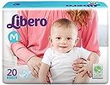 #8: Libero Open Diaper (20 Counts) Pack of 2(Medium Size)