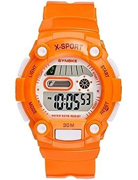 Children's watch wasserdicht luminous electronic multi-funktion-A
