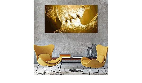 Abstrakt Schwarz Gold Weltkarte Leinwand Malerei///Poster und Print Nordic Wandkunst Bild f/ür Wohnzimmer Kinderzimmer Decor-60x100cm Kein Rahmen