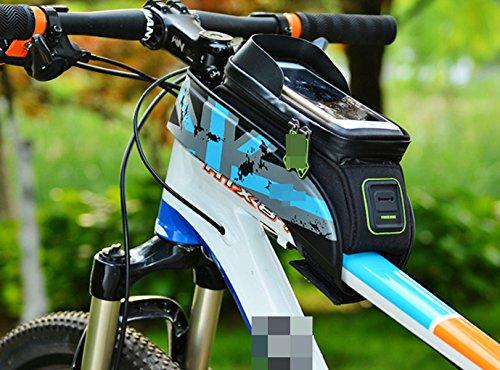 OGTOP Mountainbike Tasche Fronttasche Tasche Telefon Wasserdichte Satteltasche Zubehör 1