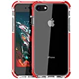 MATEPROX iPhone 8 Coque iPhone 7 Coque Clair Heavy Duty de Protection Anti-Scratch...