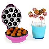 oneConcept Boogie Mini Cup Cakes Pop Cake Maker pink