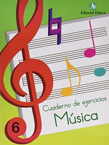 Música. Cuaderno De Ejercicios 6 (Musica) por Marta Figuls Altes