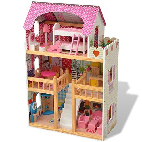 hobby e sport Casa delle Bambole in Legno per Bambini