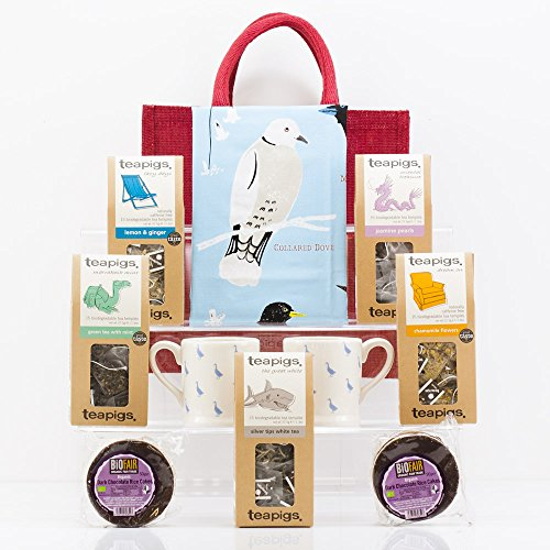 Natures Hampers Afternoon Tea For Two Gift Bag Vegetarian Treat Vegan Set Birthday Him Her Christmas Gifts