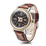 Time100 W60055G.02A W600 - Reloj pulsera mecácino para hombres de color marrón