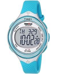 Timex Ironman - Reloj digital de cuarzo para mujer con correa de resina, color azul