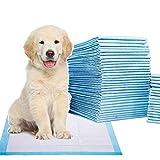 ACZZ Hundewindeln, Urinalkissen Für Haustiere Super Saugfähig, Deo, Auslaufsicher, Sauber Und Bequem, Hundekissen, Heimtierbedarf, 24X24Inch,Blau,40stk