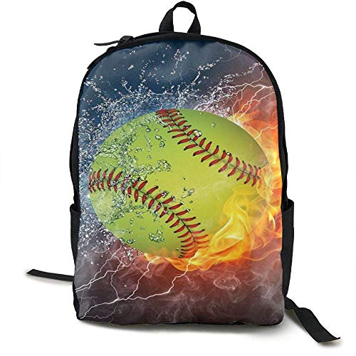 Womens Französisch Geldbörse (HOJJP Schultasche Fire Softball Customized Mouse Pad Rectangle Mouse Pad Gaming Mouse Mat MP2264 Women Girls Backpack£¬Canvas Daykpack Laptop School Bag Printng Travel Shoulder Bookbags)
