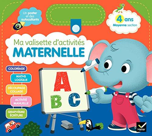 Ma valisette d'activités Maternelle 4 ans Moyenne section