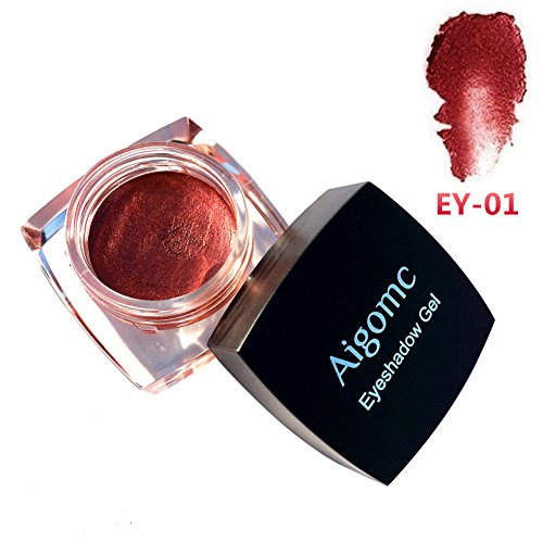 Cream Glitter Eyeshadow,OYOTRIC Eye Shadow Cream Long-lasting Waterproof Glitter Eye Shadow Metalic...