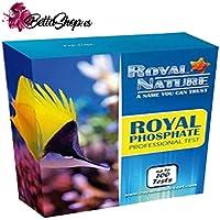 BETTASHOP.ES Test DE FOSFATOS para ACUARIOS DE Agua Salada Royal Nature hasta 100 Tests