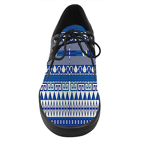 Dalliy Aztec Costume Lace Up Chaussures Casual Baskets A