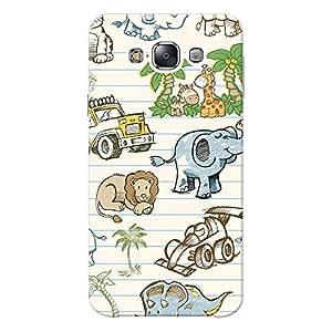 Mobile Back Cover For Samsung Galaxy E7 (Printed Designer Case)