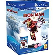 PS4 Marvel's Iron Man VR + 2 x Move controllers (PS4)