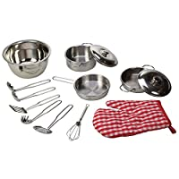Bigjigs Toys Stainless Steel Kitchenware Set