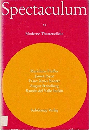 Spectaculum 21 - Fünf moderne Theaterstücke