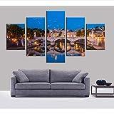 5 stücke Wohnzimmer Schlafzimmer hauptwanddekor HD Poster