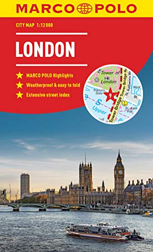 Marco Polo London City Map (Marco Polo City Maps) (Map City London)
