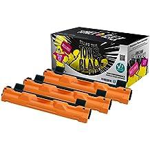 Yellow Yeti TN1050 (1000 pagine) 3 Toner compatibili per Brother HL-1110 HL-1112 DCP-1510 DCP-1512 DCP-1610W DCP-1612W HL-1210W HL-1212W MFC-1810 MFC-1910W [3 Anni di Garanzia]
