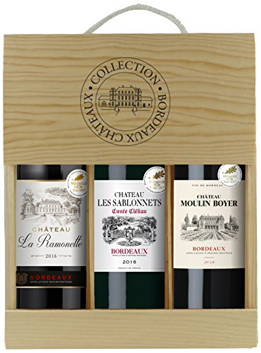 Selection-Bordeaux-Wein-Probierpaket-mit-Goldmedaille-in-Holzkiste-3-x-075-l
