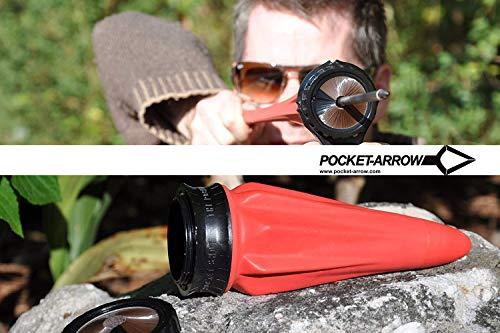 Pocket-Shot Arrow Pro Pack - Der kleinste 'Bogen' der Welt
