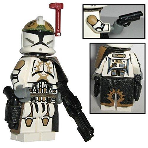 87th Star Corps Offizier Sergant custom design Star Wars Figur gefertigt aus Lego & custom (Star Wars Customs Lego)