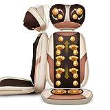 Meng Wei Shop Sedie e materassini per massaggi elettrici Massaggiatore cervicale Cuscino per massaggio collo indietro Cuscino multifunzionale del cuscino domestico Cuscinetto della sedia