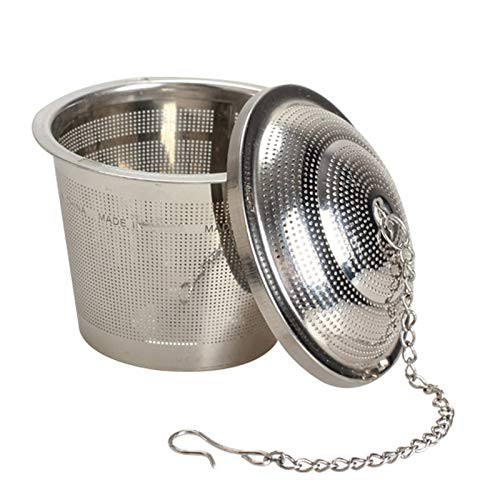 Tea Strainers - 304 Stainless Steel Tea Mesh Ball Herbal Infuser Strainer Filter S M L Tb - Ceramic Mesh Cloth Ball Single Cute Extra Bulk Fine Strainers Animal Loose Stainless Handle Teapot Steel Infuser